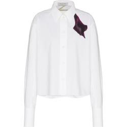 Valentino Cotton Flower-Detail Shirt found on Bargain Bro UK from harrods.com