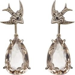 HStern Noble Gold and Diamond Rock Season Earrings