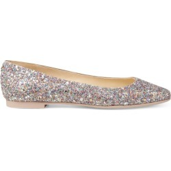 Jimmy Choo Modell Glitter-Embellished Flats found on Bargain Bro UK from harrods.com