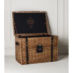 Harrods Extra-Large Hamper Basket (H65cm x W45cm x D43.5cm) found on Bargain Bro UK from harrods.com