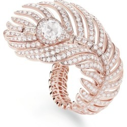 Boucheron Rose Gold Plume de Paon Ring found on MODAPINS from harrods.com for USD $36558.08