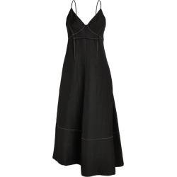 Jil Sander Dart-Detail Slip Dress found on Bargain Bro UK from harrods.com