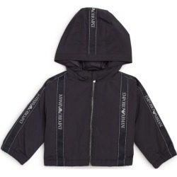 Emporio Armani Kids Hooded Jacket (6-36 Months) found on Bargain Bro UK from harrods.com