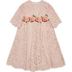 Dolce & Gabbana Kids Crochet Floral Dress (8-12 Years) found on Bargain Bro UK from harrods.com