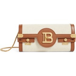 Balmain Leather and Canvas B-Buzz 23 Chain Bag found on Bargain Bro UK from harrods.com