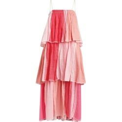 lemlem Eshal Tiered Beach Dress found on MODAPINS from harrods.com for USD $693.78