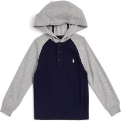 Ralph Lauren Kids Raglan Hooded Sweater (5-7 Years) found on Bargain Bro UK from harrods.com