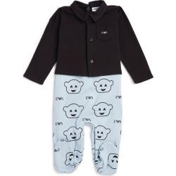 Emporio Armani Kids Manga Bear All-In-One (1-12 Months) found on Bargain Bro UK from harrods.com