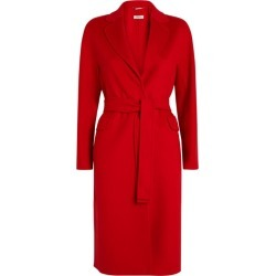 Max Mara Wool Belted Coat found on Bargain Bro UK from harrods.com
