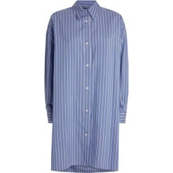 Isabel Marant Striped Macali Silk Shirt found on Bargain Bro UK from harrods.com