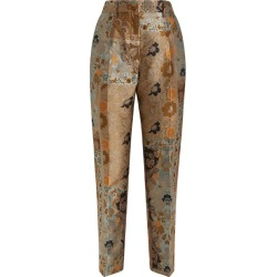 Etro Paisley Jacquard Straight Trousers found on MODAPINS from harrods.com for USD $926.19
