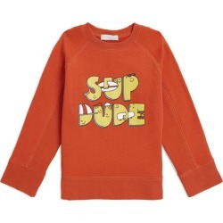 Stella McCartney Kids Cotton Sup Dude Sweatshirt found on Bargain Bro UK from harrods.com