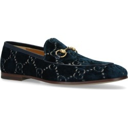 Gucci Velvet Jordan Loafers found on MODAPINS from harrods.com for USD $668.05