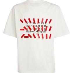Maison Margiela Cotton Tape Print T-Shirt found on Bargain Bro UK from harrods.com