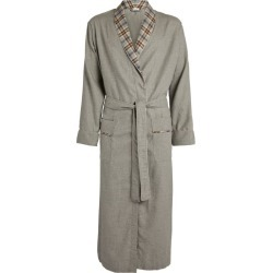 Zimmerli Check-Trim Robe found on MODAPINS from harrods.com for USD $339.18