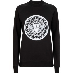 Balmain Logo Sweatshirt found on Bargain Bro UK from harrods.com