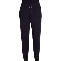 Ralph Lauren Purple Label Suede Trim Sweatpants found on Bargain Bro UK from harrods.com