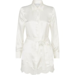 Carine Gilson Silk Button-Down Robe found on MODAPINS from harrods.com for USD $1239.30