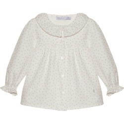 Patachou Frilled Collar Blouse (6-24 Months) found on Bargain Bro UK from harrods.com