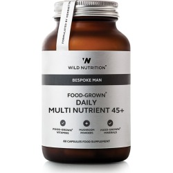 Wild Nutrition Bespoke Man Food-Grown Daily Multi Nutrient 45+ (60 Capsules) found on Bargain Bro UK from harrods.com