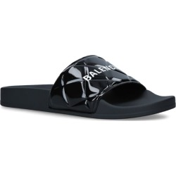 Balenciaga Quilted Logo Slides found on Bargain Bro UK from harrods.com
