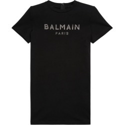 Balmain Kids Logo T-Shirt Dress (4-16 Years) found on Bargain Bro UK from harrods.com