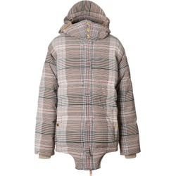 Burberry Check Print Puffer Jacket found on Bargain Bro UK from harrods.com