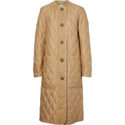 Burberry Diamond-Quilted Coat found on Bargain Bro UK from harrods.com