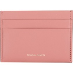 Mansur Gavriel Leather Card Holder found on GamingScroll.com from Harrods Asia-Pacific for $220.13