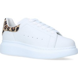 Alexander Mcqueen Kids Leopard Print Leather Runway Sneakers found on Bargain Bro from Harrods Asia-Pacific for USD $242.11
