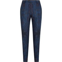 Etro Wool Paisley Trousers found on Bargain Bro UK from harrods.com