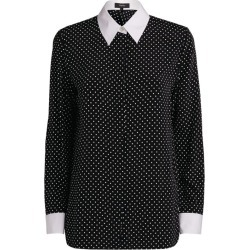 Theory Contrast Cuff Straight Shirt found on Bargain Bro India from Harrods Asia-Pacific for $261.85