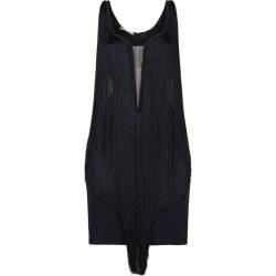 Stella McCartney All-Over Fringe Mini Dress found on Bargain Bro UK from harrods.com