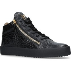 Giuseppe Zanotti Croc-Embossed Sneakers found on Bargain Bro UK from harrods.com