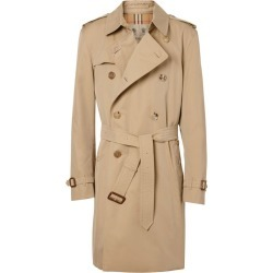 Burberry The Mid-Length Kensington Heritage Trench Coat found on Bargain Bro UK from harrods.com