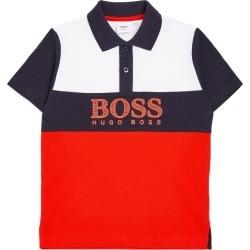 BOSS Kidswear Colour Block Polo Shirt (4-16 Years) found on Bargain Bro UK from harrods.com