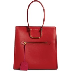 Alexander McQueen The Tall Story Leather Top-Handle Bag found on Bargain Bro UK from harrods.com