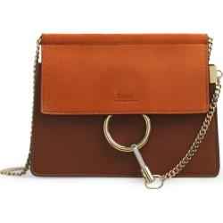 Chloé Mini Leather Faye Chain Bag found on Bargain Bro UK from harrods.com