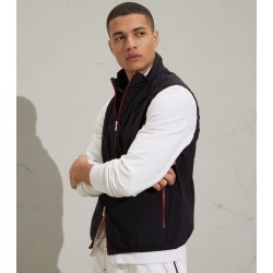 Brunello Cucinelli Contrast-Zip Gilet found on Bargain Bro from harrods (us) for USD $908.20