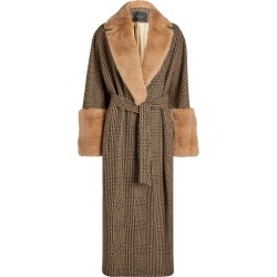 Kiton Mink-Trimmed Cashmere-Wool Coat found on MODAPINS from harrods (us) for USD $9418.00
