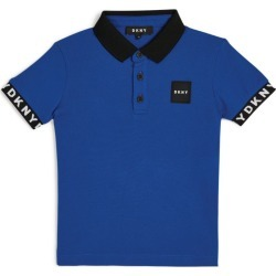 DKNY Logo Patch Polo Shirt (6-16 Years) found on Bargain Bro UK from harrods.com