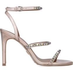 Kurt Geiger London Leather Jewelled Portia Sandals 95 found on Bargain Bro UK from harrods.com