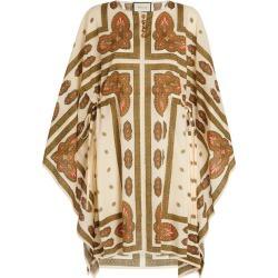 Gucci Paisley Print Kaftan Dress found on Bargain Bro UK from harrods.com