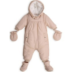 Chloé Kids Metallic Trim Snowsuit, Booties and Mittens Set (3-18 Months) found on Bargain Bro from harrods.com for £206