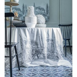 Alexandre Turpault Este Tablecloth (150cm x 300cm) found on Bargain Bro UK from harrods.com