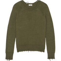 Saint Laurent Distressed Sweater found on GamingScroll.com from Harrods Asia-Pacific for $813.95
