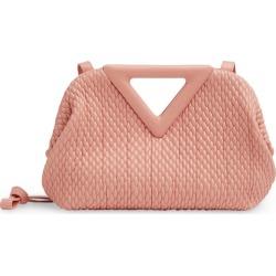 Bottega Veneta Small Leather Intecciato Point Top-Handle Bag found on Bargain Bro UK from harrods.com