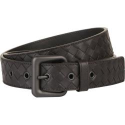 Bottega Veneta Cintura Intrecciato Leather Belt found on Bargain Bro UK from harrods.com