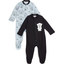 Emporio Armani Kids Set of 2 All-In-Ones (1-12 Months) found on Bargain Bro UK from harrods.com