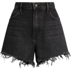 Alexander Wang Frayed-Edge Denim Shorts found on MODAPINS from harrods (us) for USD $235.00